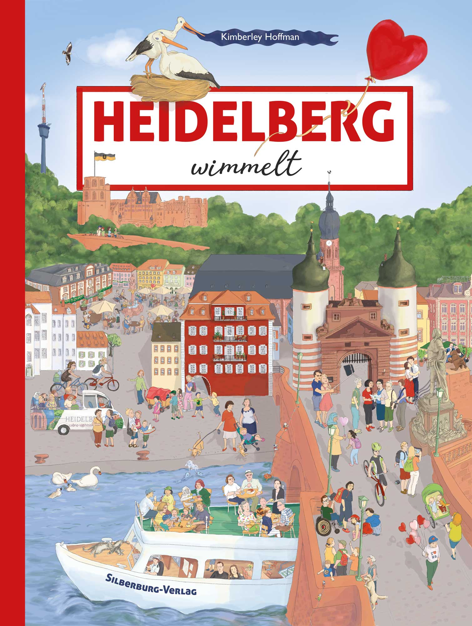 """Cover of my search and find book """"Heidelberg wimmelt"""""""