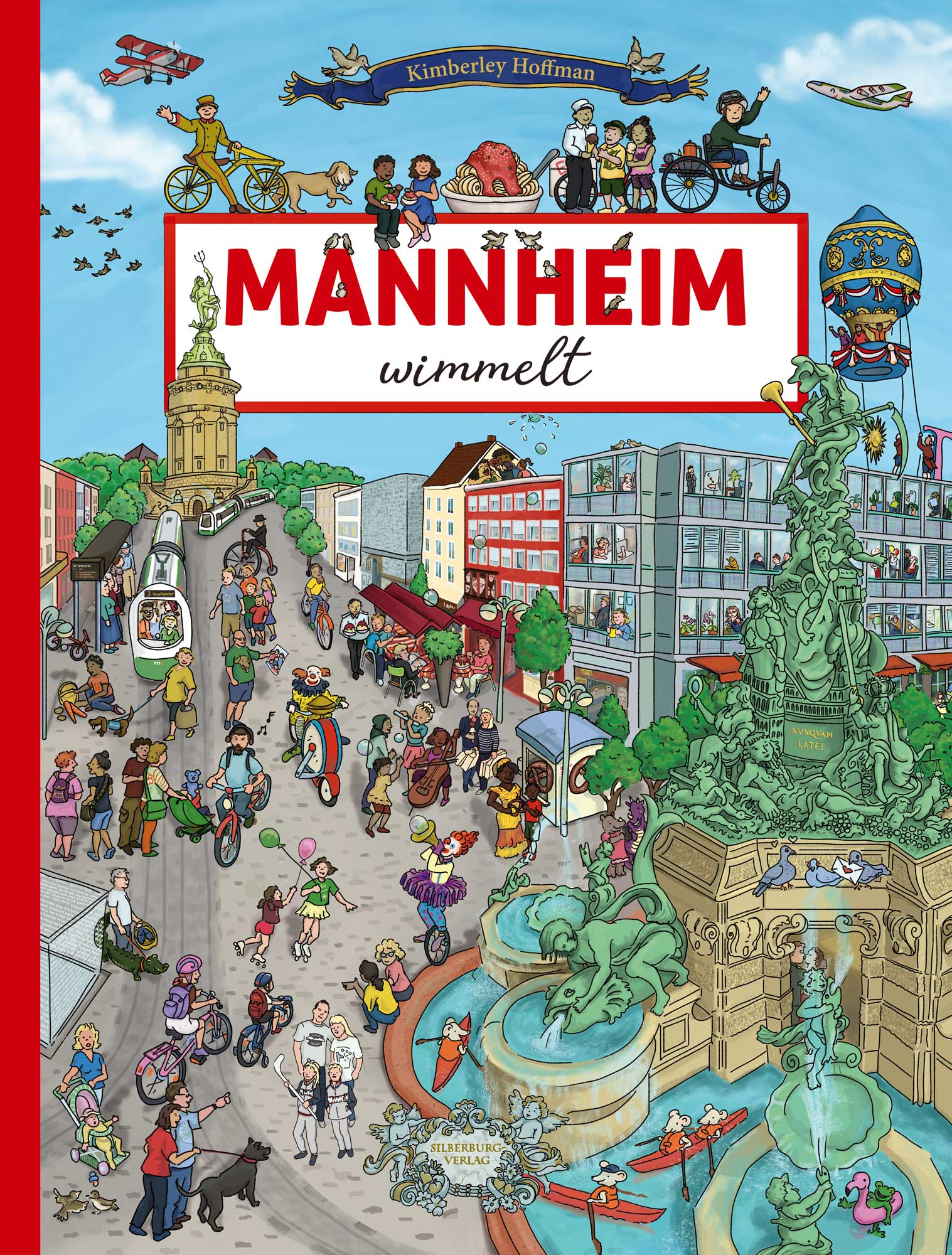 """cover image of my search and find book """"Mannheim wimmelt"""""""