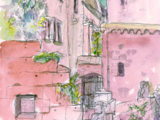 Kick off the Year with Urban Sketching