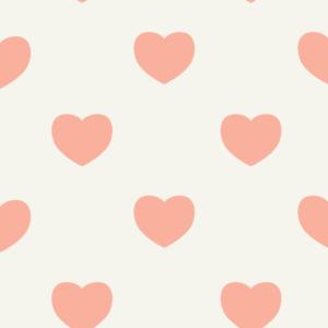 Heilbronn wimmelt is full of heart - Wallpaper graphic full of hearts